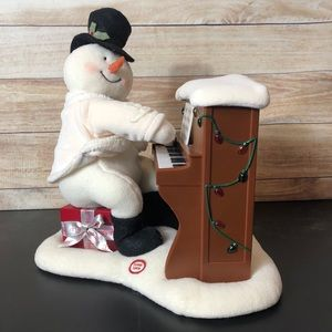 Hallmark singing light up snowman decoration